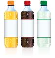 Soft drink bottles vector
