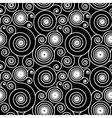 Hypnotic spiral pattern vector