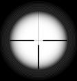 Rifle sight vector