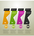 Infographic option banner vector