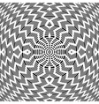 Abstract rotation pattern vector