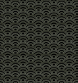 Oriental waves pattern vector