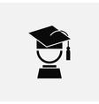 Graduation symbol vector