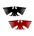 Imperial heraldic eagle with outspread wings vector