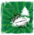 Grungy christmas design vector