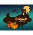 Halloween colored background vector