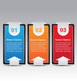 Modern infographic template banner vector
