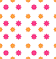Seamless texture with flowers elegance child vector