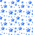 Blue stars background seamless vector