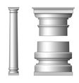 Classic ancient column vector