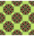 Fresh green seamless pattern vector