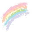 Grunge rainbow3 vector