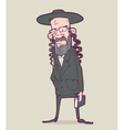 Jewish man vector