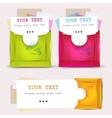 Paper envelopes set vector