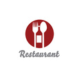 Restaurant design template vector