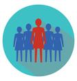 Women leadership concept women team vector