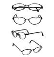 Eye glasses vector