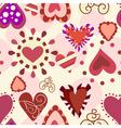 Sweet love pattern vector