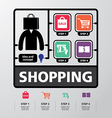 Template modern info-graphic design for business vector