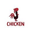 Chicken design template vector