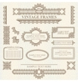 Vintage style design elements vector