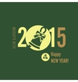 Flat design concepts for happy new year vector