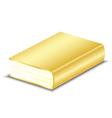 Gold book vector