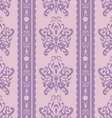 Purple butterfly seamless in style vector