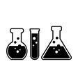 Laboratory glass vector