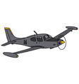 Small watch aircraft vector