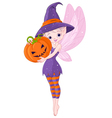 Halloween fairy vector
