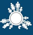 Family icons pictograms vector