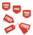 Free tags vector