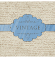 Vintage style greeting card vector