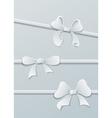 Paper bows vector