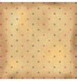 Vintage polka dots wallpaper vector