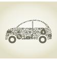 Car business vector