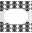 Classic style argyle background vector