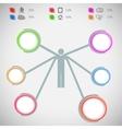 Infographic data presentation template vector