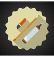 Designer drawing items include pencil eraser vector