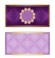 Royal template luxury invitation vector