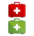 First aid kit case vector