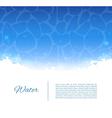 Water template vector