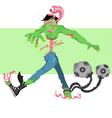 Zombie twist vector