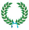Winner laurel wreath vector