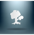 Tree symbol icon nature sign vector