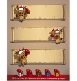 Christmas elks papyrus gifts vector