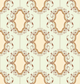 Medallion pattern vector