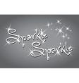 Sparkle sparkle vector