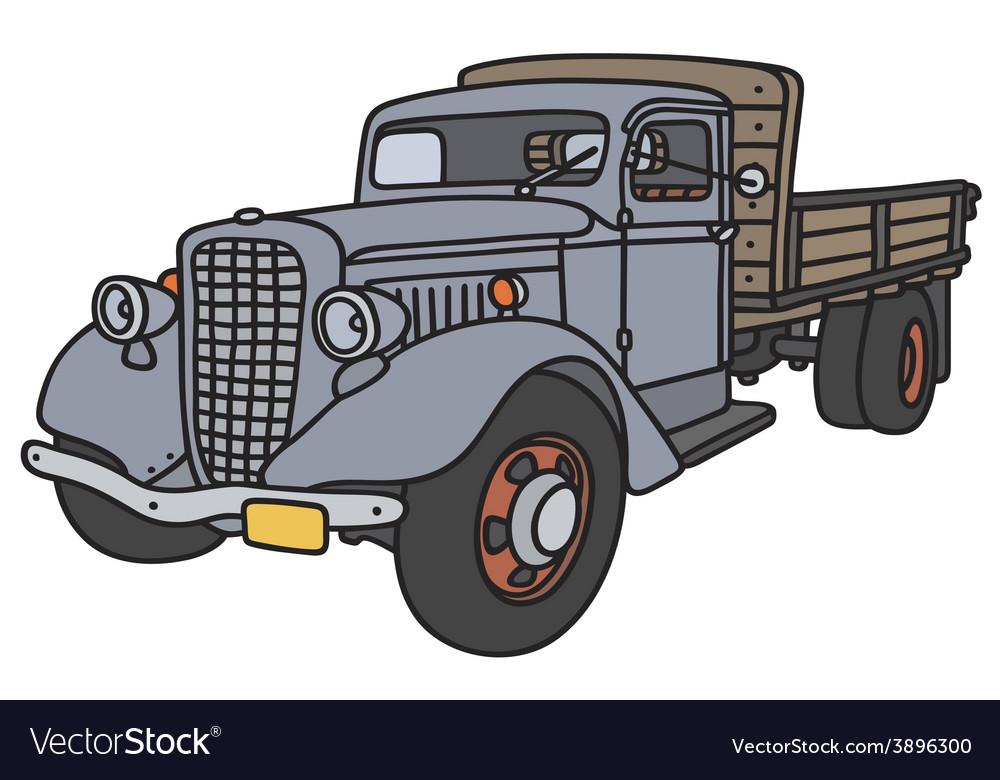 Classic truck vector   Price: 1 Credit (USD $1)